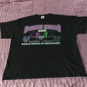 2000 MLB World series Yankees vs. Mets T-shirt